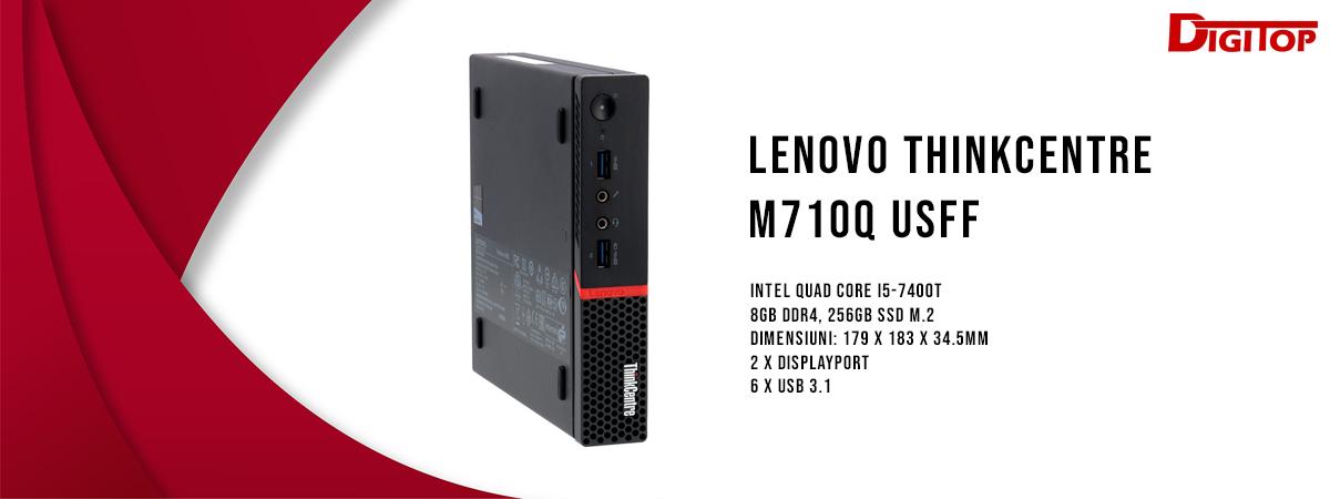 Lenovo ThinkCentre M710q USFF, i5-7400T