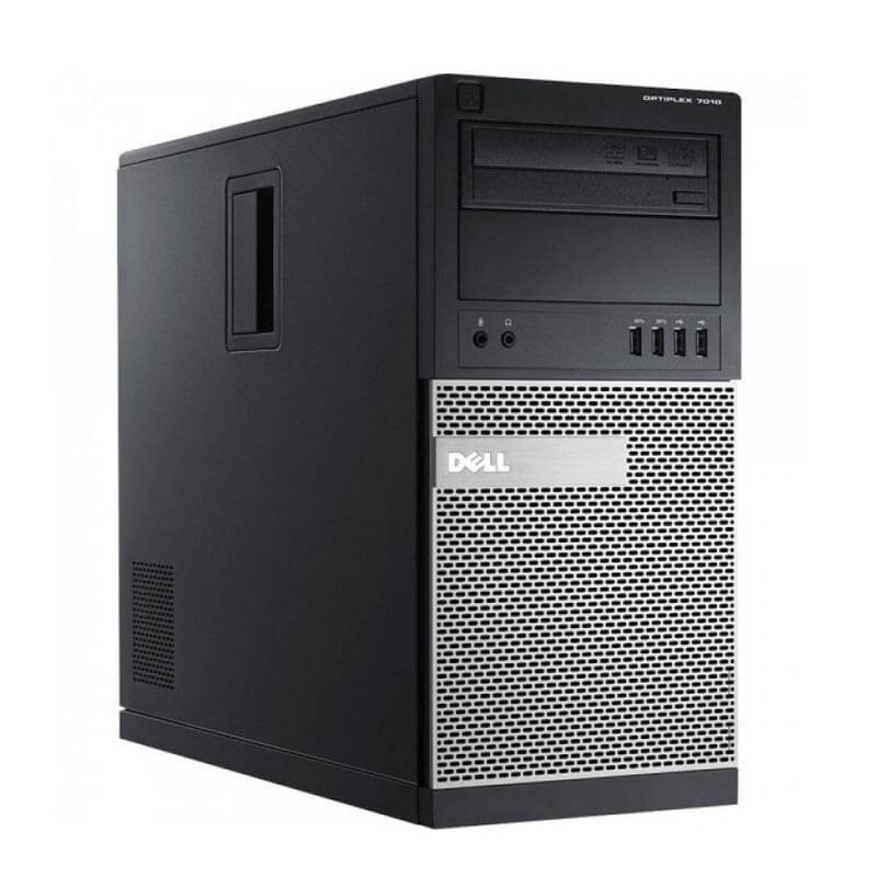 Calculator PCsecond hand Dell OptiPlex 7010 MT, Intel Quad Core i5-3470, 120GB SSD NOU