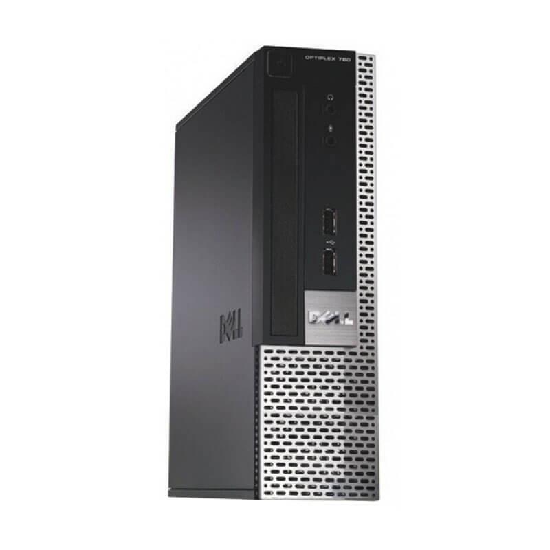 Calculator PCsecond hand Dell OptiPlex 780 USFF, Intel Dual Core E6300