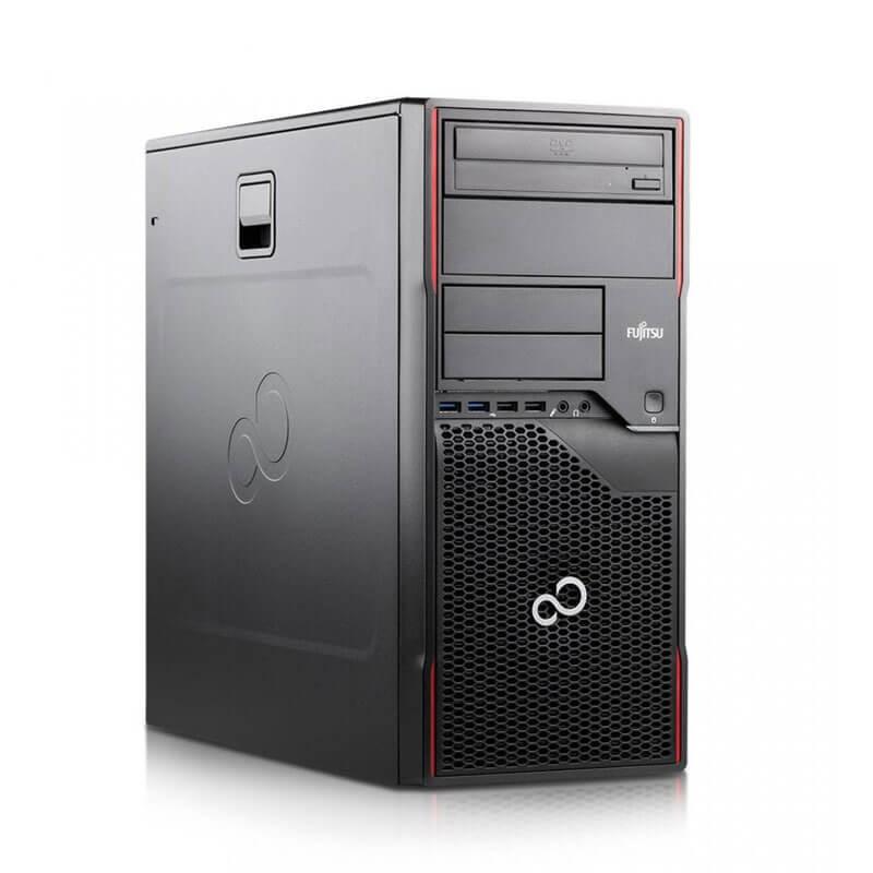 Calculator PCsecond hand Fujitsu ESPRIMO P910, Quad Core i7-3770, 240GB SSD, GeForce 605 DP