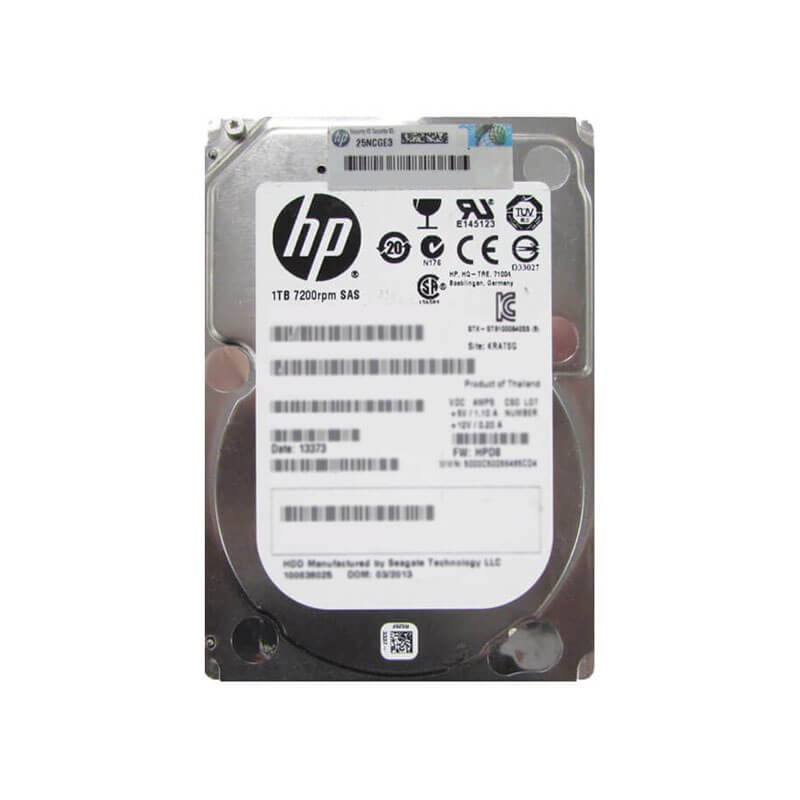 HDD HP 727397-001 1TB SAS 6Gbps 7200RPM 2.5 inci
