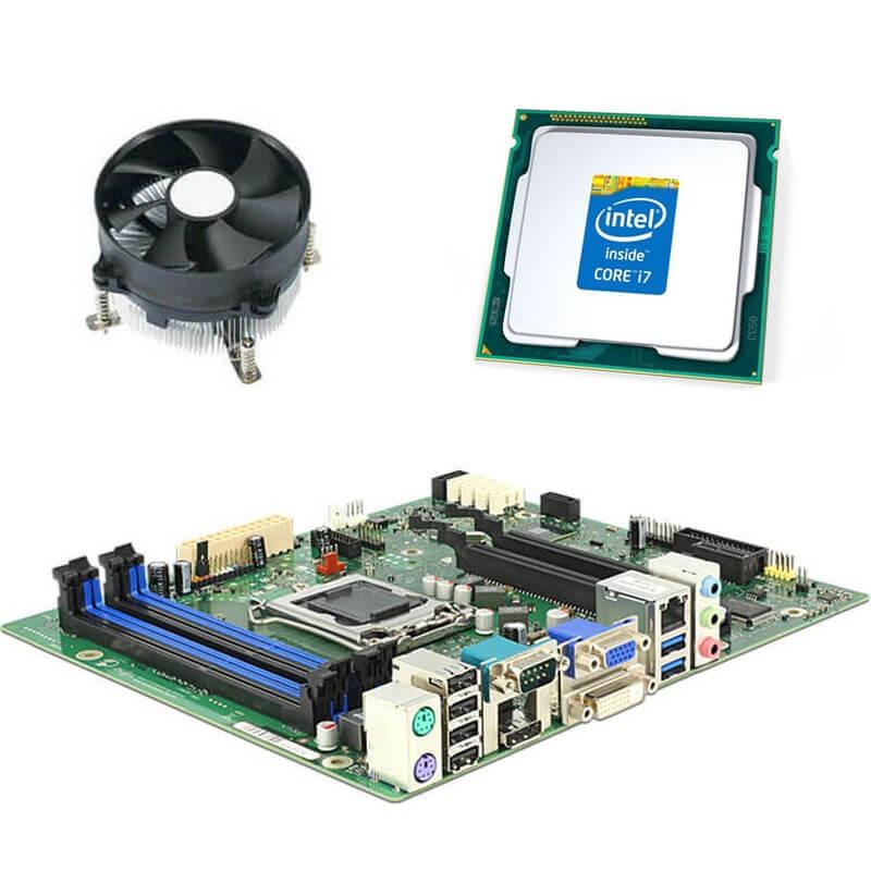 Kit Placi de baza Fujitsu D3221-B, Intel Quad Core i7-4790K, Cooler