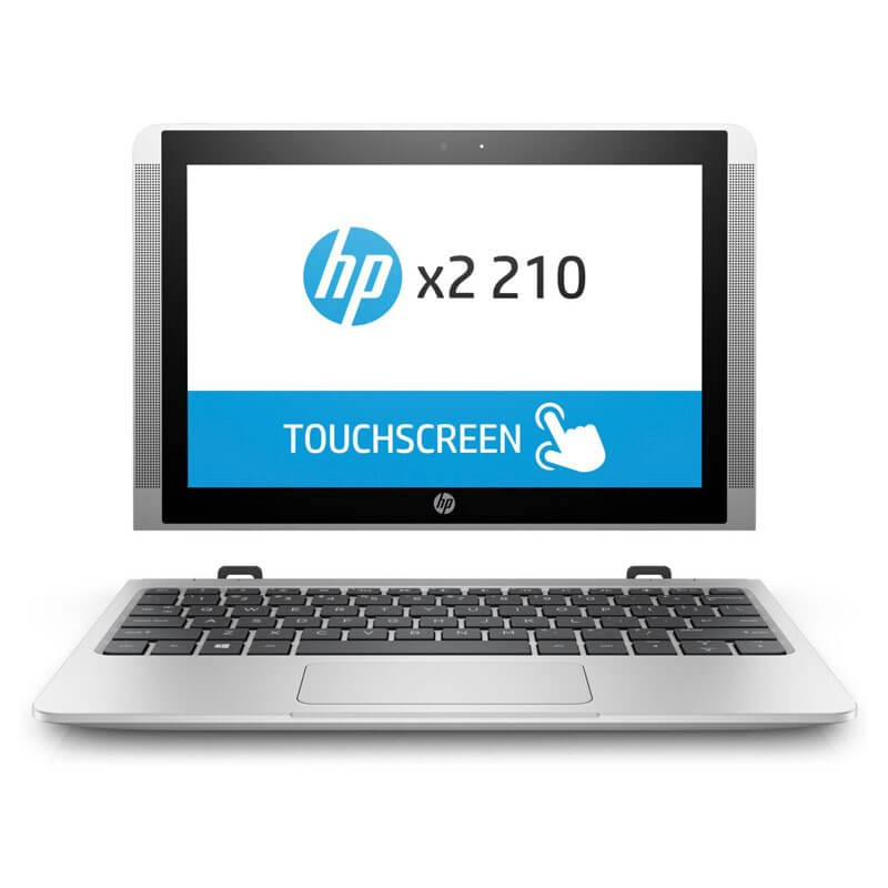 Laptop 2 in 1 Touchscreen second hand HP x2 210 G2, Quad Core x5-Z8350, 10.1 inci