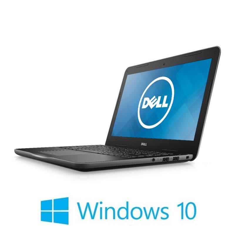 Laptop Dell Latitude 3380, Intel i3-6006U, 128GB SSD, 13.3 inci, Webcam, Win 10 Home