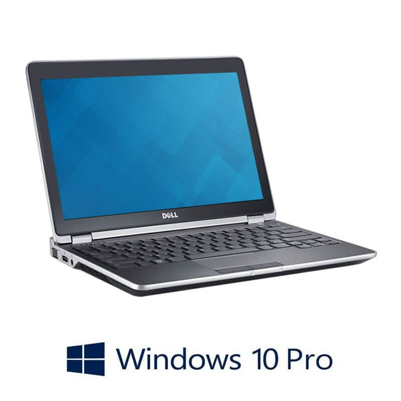 Laptop Dell Latitude E6230, i5-3380M, 128GB SSD mSATA, Webcam, Win 10 Pro