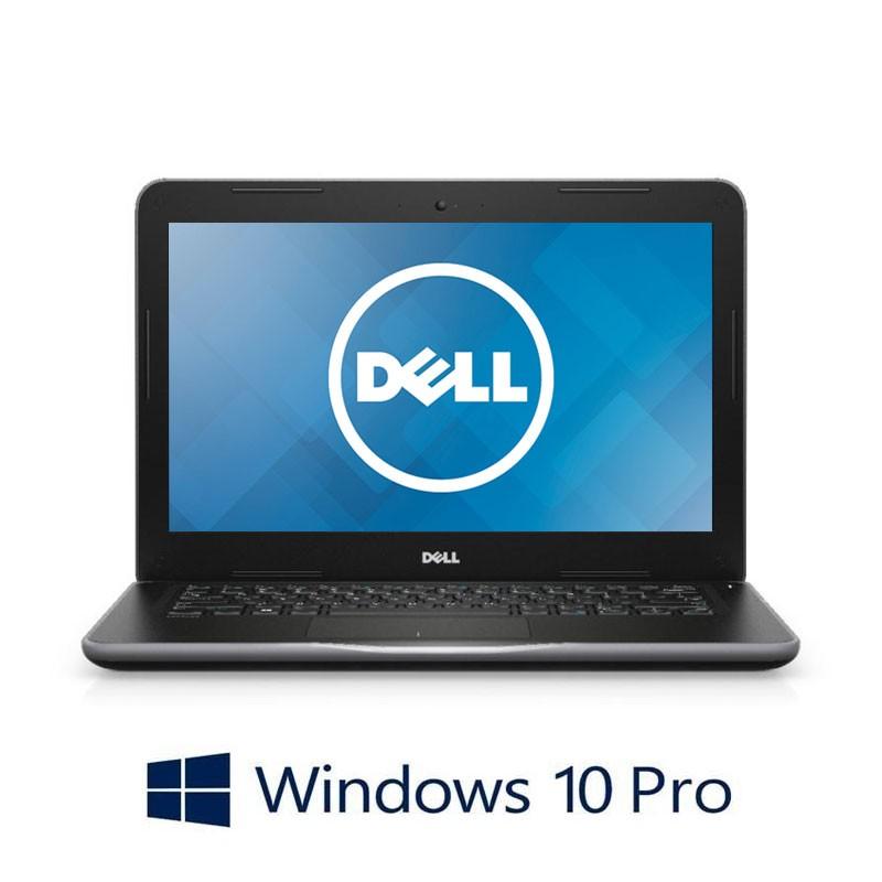 Laptopuri Dell Latitude 3380, Pentium 4415U, 128GB SSD, 13.3 inci, Webcam, Win 10 Pro