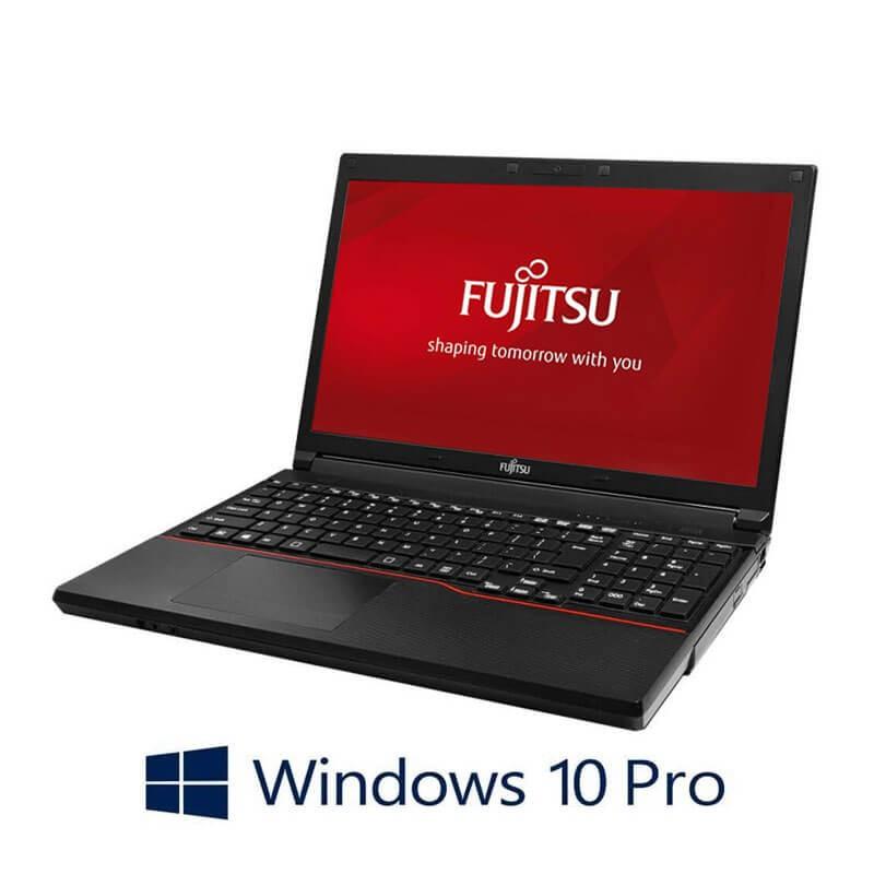 Laptopuri Fujitsu LIFEBOOK A574/K, Intel Core i3-4000M, 15.6 inci, Webcam, Windows 10 Pro