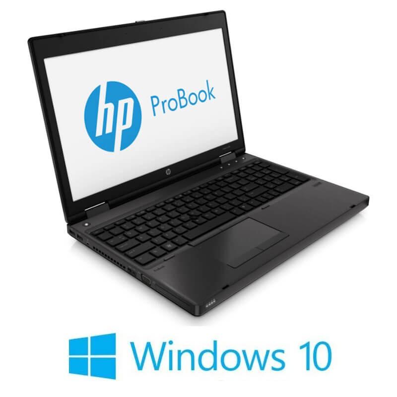 Laptopuri HP ProBook 6570b, i3-3120M, Win 10 Home