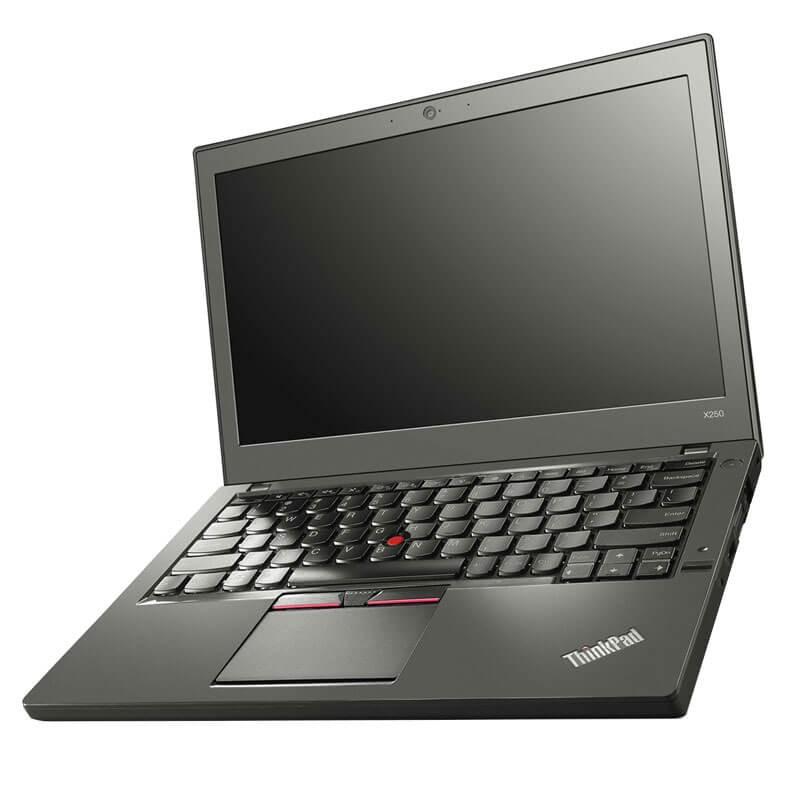 Laptopuri second hand Lenovo ThinkPad X250, i7-5600U, Full HD, 256GB SSD, Webcam, Grad B