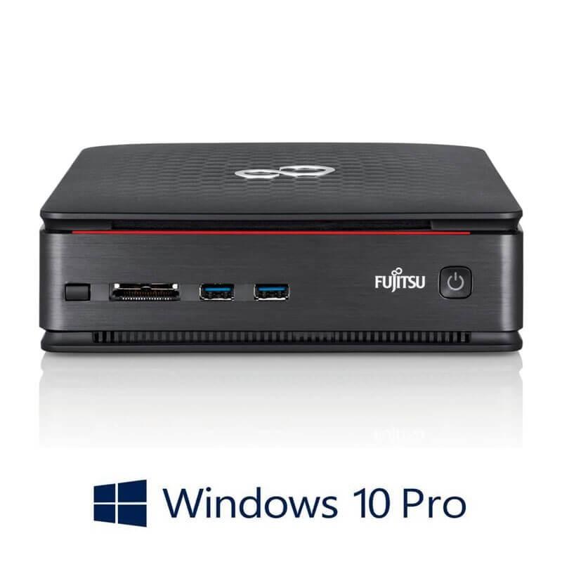 Mini Calculatoare ESPRIMO Q520, Intel Dual Core i3-4170T, 120GB SSD, Win 10 Pro
