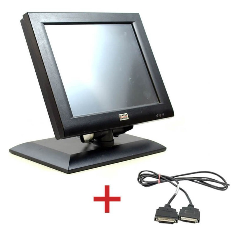 Monitoare Touch BA72A-2, IR-Touch, 12 inci + Cablu Special Plink Wincor
