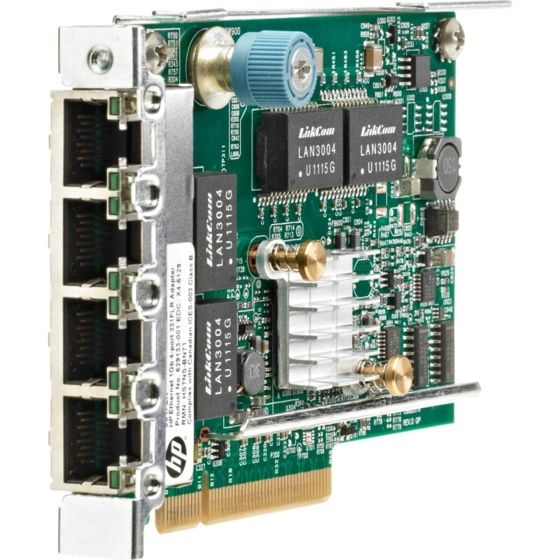 Placa de Retea Gigabit, Quad Port, 629133-002 HP 331FLR