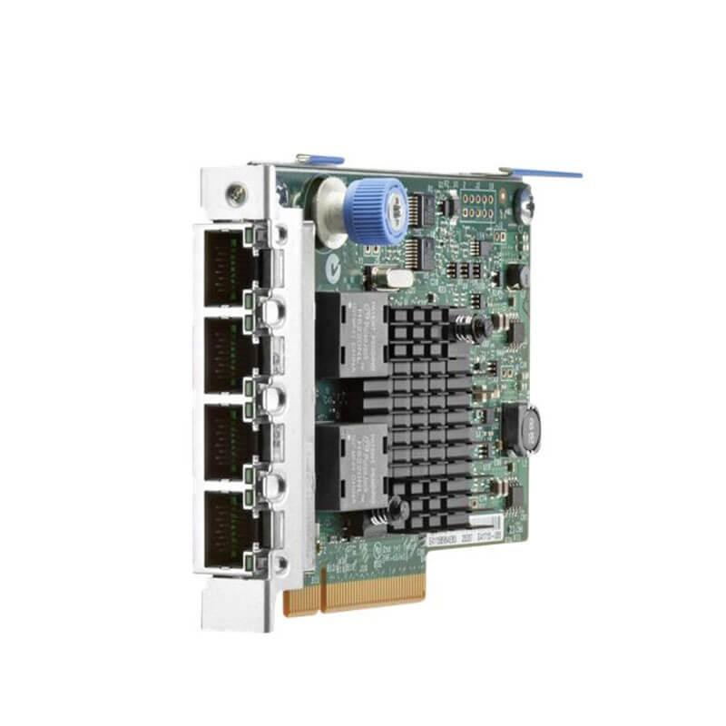 Placa de Retea Servere HP 669280-001 Quad Port 10/100/1000Mbps