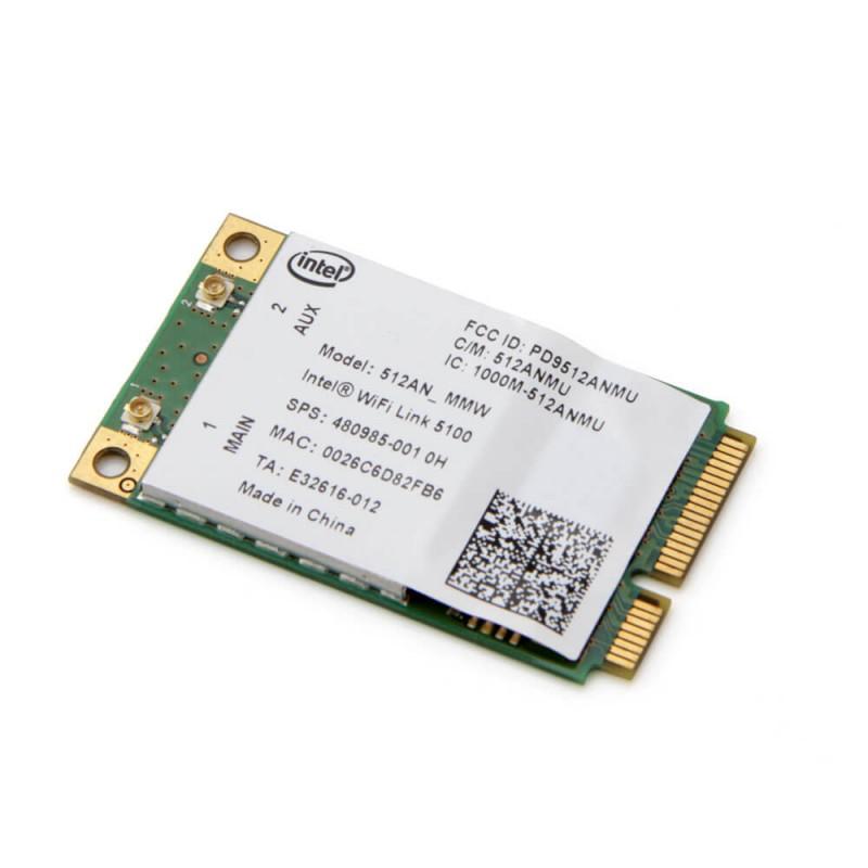 Placa Retea Wireless lntel WiFi Link 5100 PCIe Mini 512AN_MMW