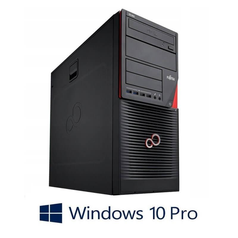 Statie grafica Fujitsu CELSIUS W530, Quad Core i7-4770, 120GB SSD NOU, Win 10 Pro