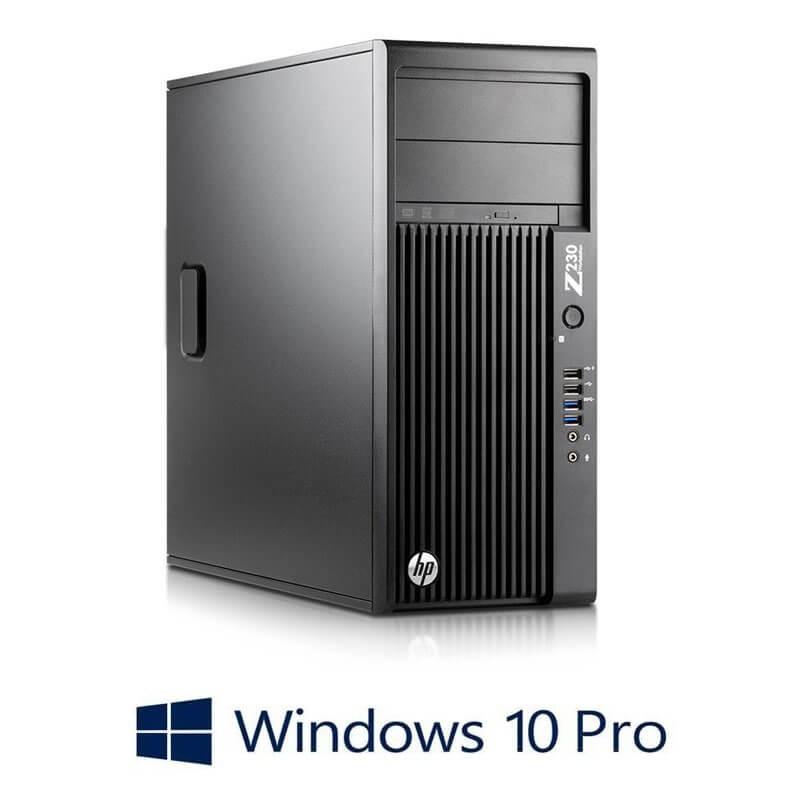 Statie grafica HP Z230 Tower, Quad Core i7-4770, Win 10 Pro