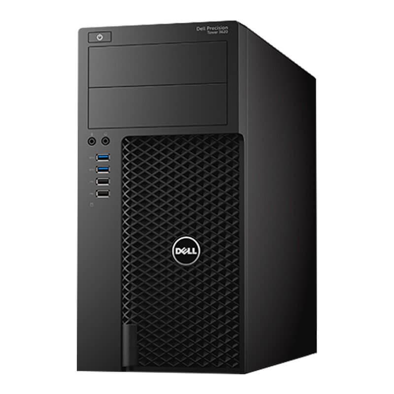Statie grafica second hand Dell Precision T3620, i7-6700, 16GB, 256GB SSD