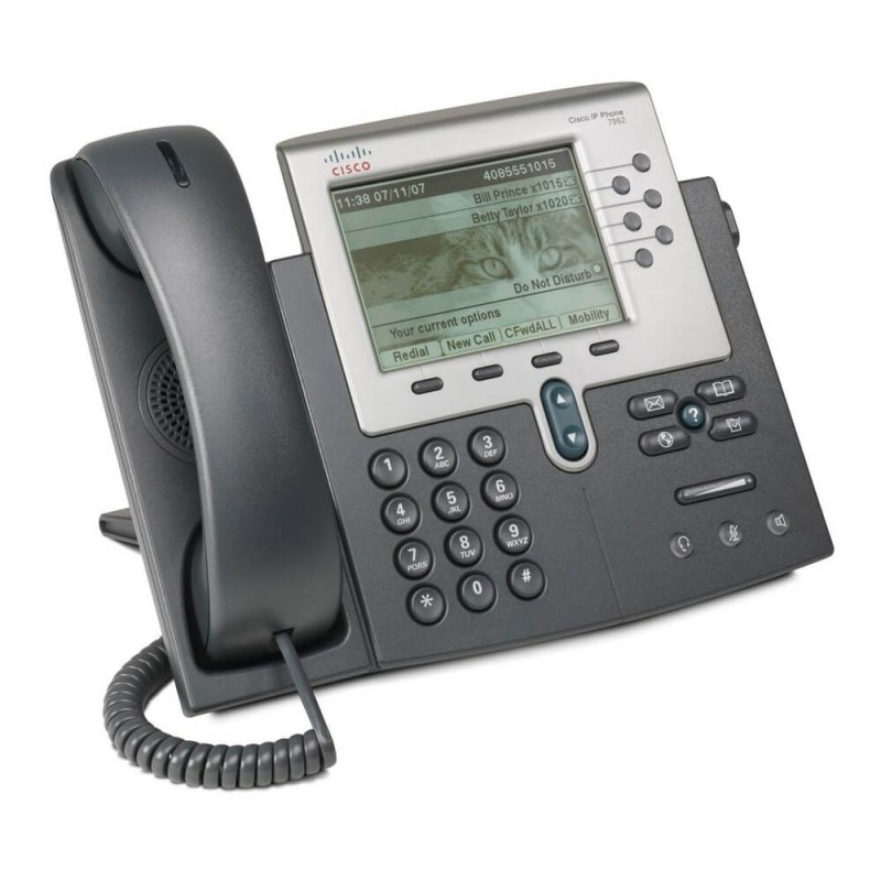 Telefon VoIP Cisco Unified CP-7962G, DHCP, Display 5 inci